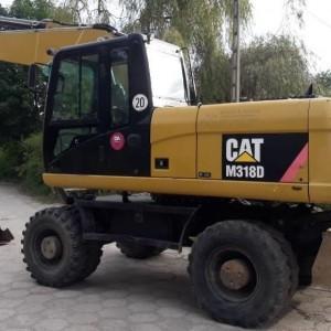 Koparka kołowa CAT M318D